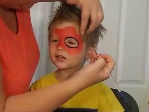رسم شبكة سبايدر مان على وجه طفل رسم على وجوه الأطفال Youtube Youtube
