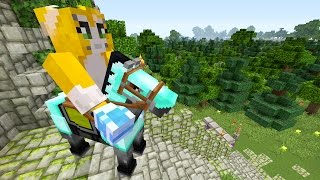 Minecraft Xbox - The Lost Sword - Horsing Around {10}