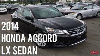 2014 Honda Accord Sedan LX Crystal Black Pearl | WHITBY OSHAWA HONDA