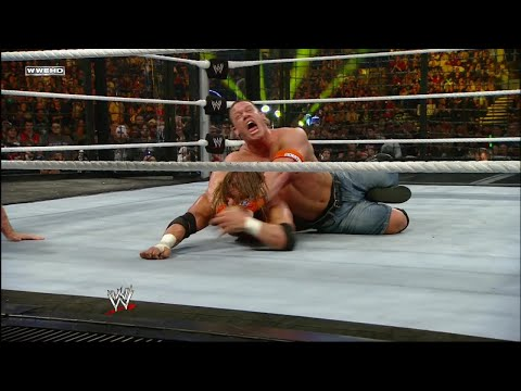 John Cena wins Raw Elimination Chamber Match: Elimination Chamber 2010