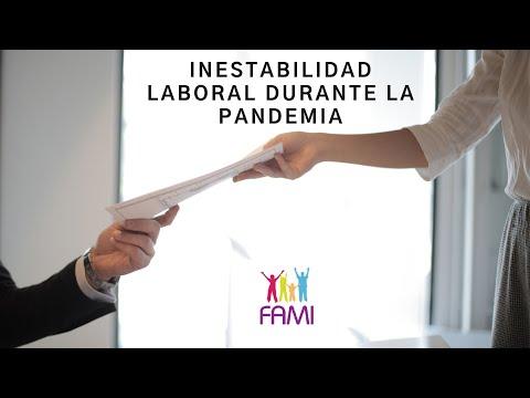 Inestabilidad Laboral durante la Pandemia - Entrevista a Cristina Leon