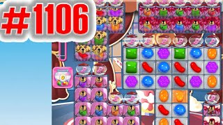 Candy Crush Saga Level 1106, NEW! Complete!