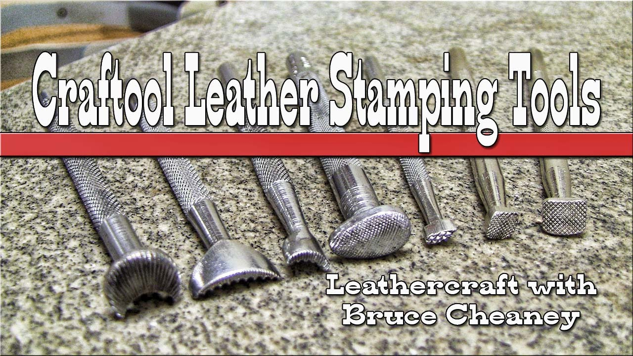 Leather Craft 7 Leather Stamping Tools For Beginners Youtube
