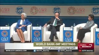Chris Giles on IMF-World Bank meetings and global economy