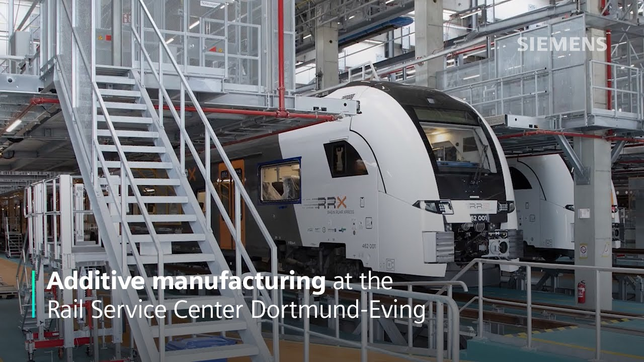 Additive manufacturing at the Rail Service Center Dortmund-Eving