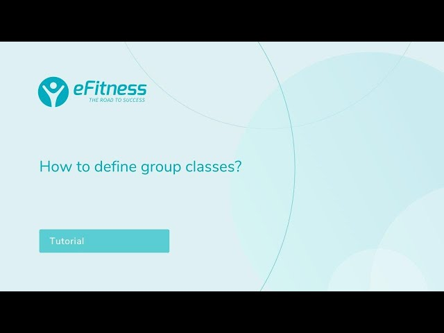 How to define group classes