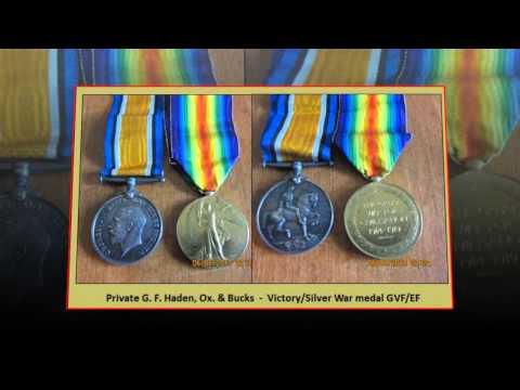 1st World War Medals