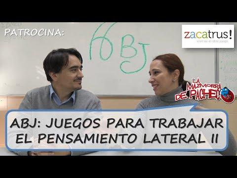 ABJ: Juegos para trabajar el pensamiento lateral y la flexibilidad cognitiva (2 de 2)