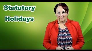 Statutory Holidays