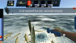 Зимняя рыбалка улов отменный