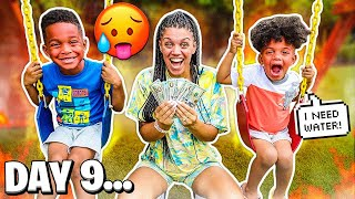 LAST TO STOP SWINGING CHALLENGE WINS $10,000 WITH THE PRINCE FAMILY!!