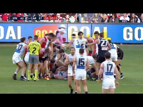 Unsociable Football: Carlton vs St Kilda