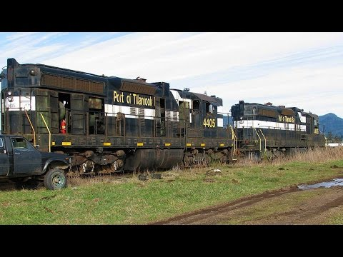 The Story Of The Port Of Tillamook Bay Railroad!