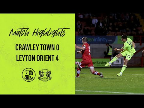 Crawley Town Leyton Orient Goals And Highlights