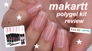 MAKARTT polygel kit review!