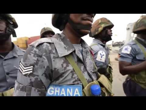Ghanaian Petty Officer Talks Piracy and Exercise Obagame 2015