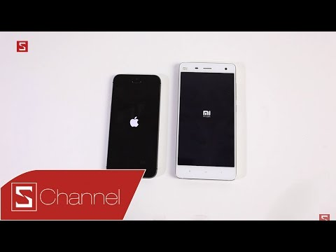 Schannel - Speedtest Mi 4 RAM 3GB vs iPhone 5S: Ưu tiên hiệu năng, chọn máy nào?