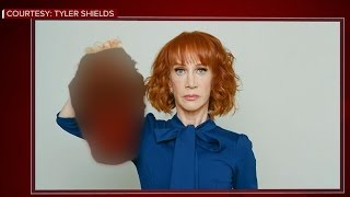 """Outrage over Kathy Griffin's """"beheading"""" photo, video"""