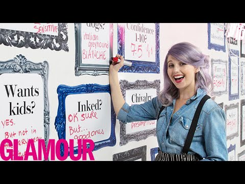 Watch One Girl Design Her Perfect Guy, And Then Meet Him | Perfect Match | Glamour