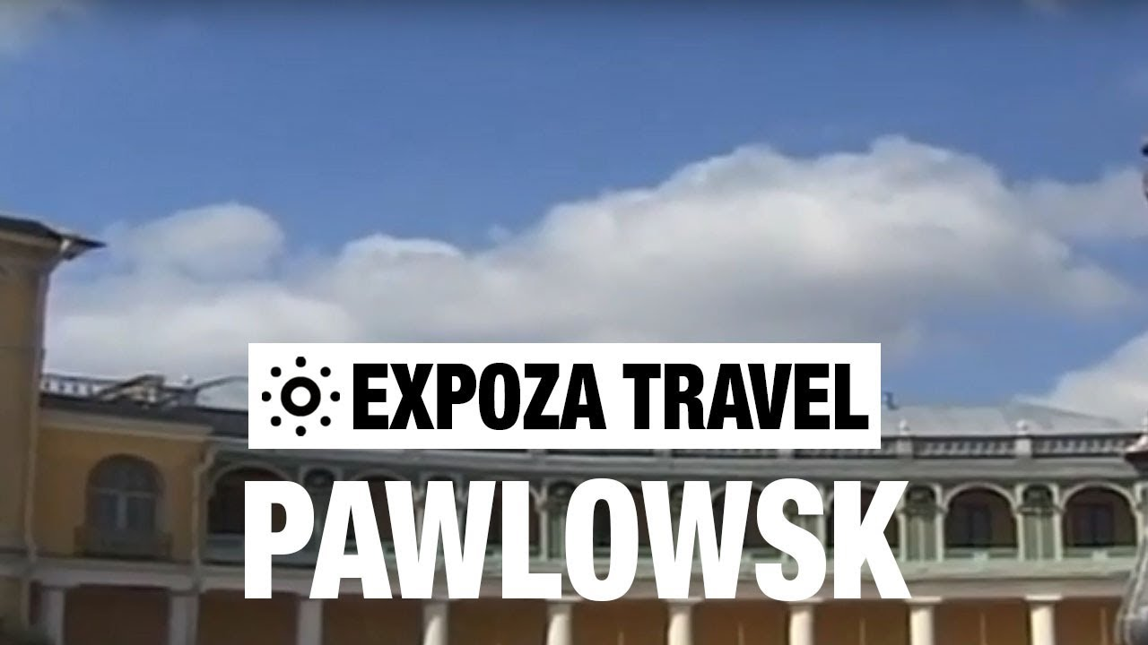 Pawlowsk Palace Vacation Travel Video Guide