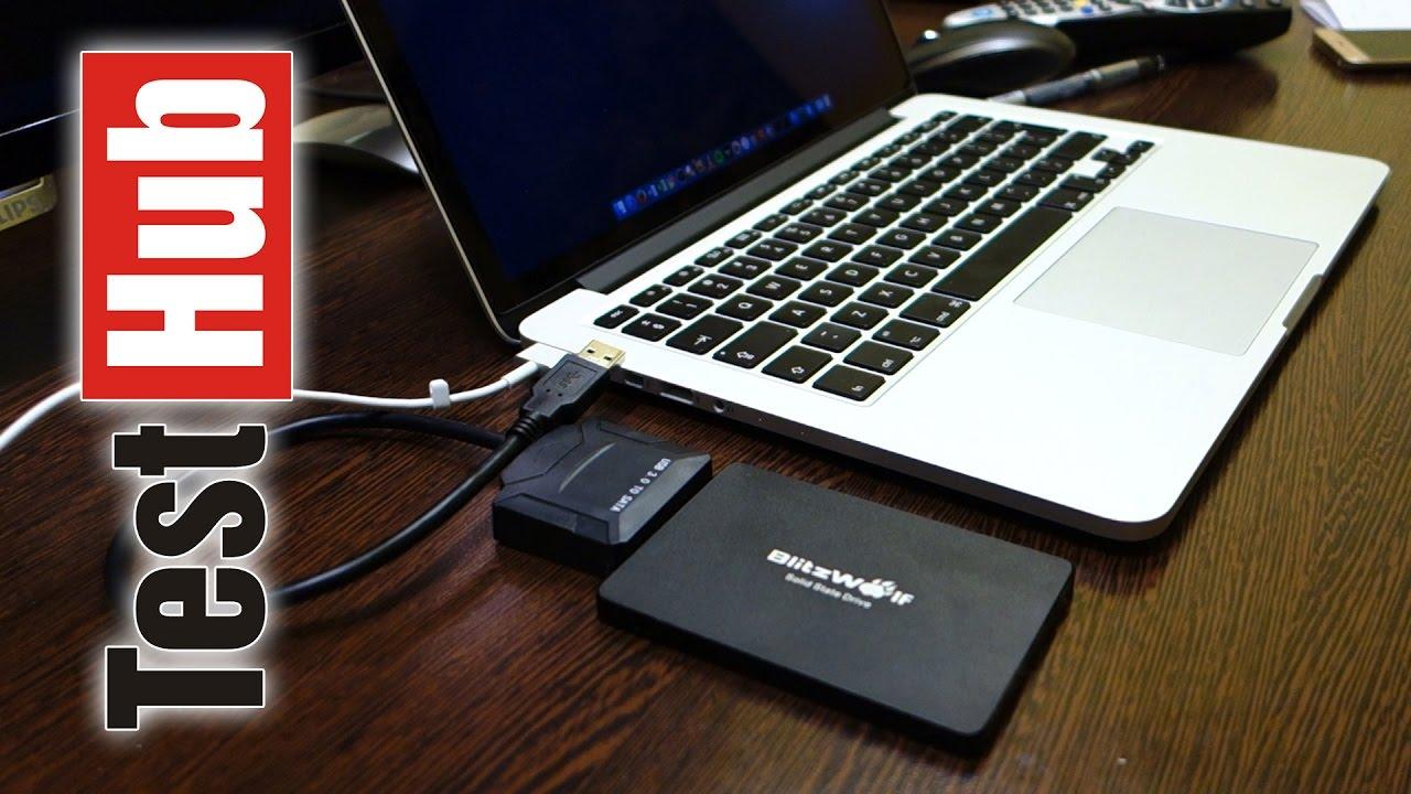 BlitzWolf SSD BW-D1 + SATA to USB 3.0 Converter