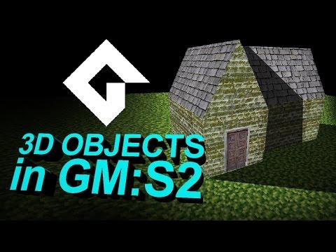 Using .OBJ 3D Models In Game Maker Studio 2 [DOWNLOAD INCLUDED]