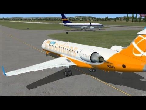 Microsoft Flight Simulator X [Mein Trainingsflug nach Glasgow][German][PC]