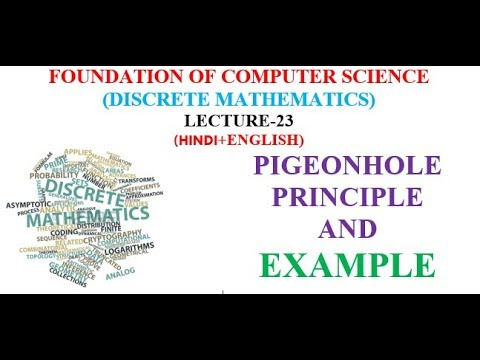 PIGEONHOLE PRINCIPLE AND EXAMPLE