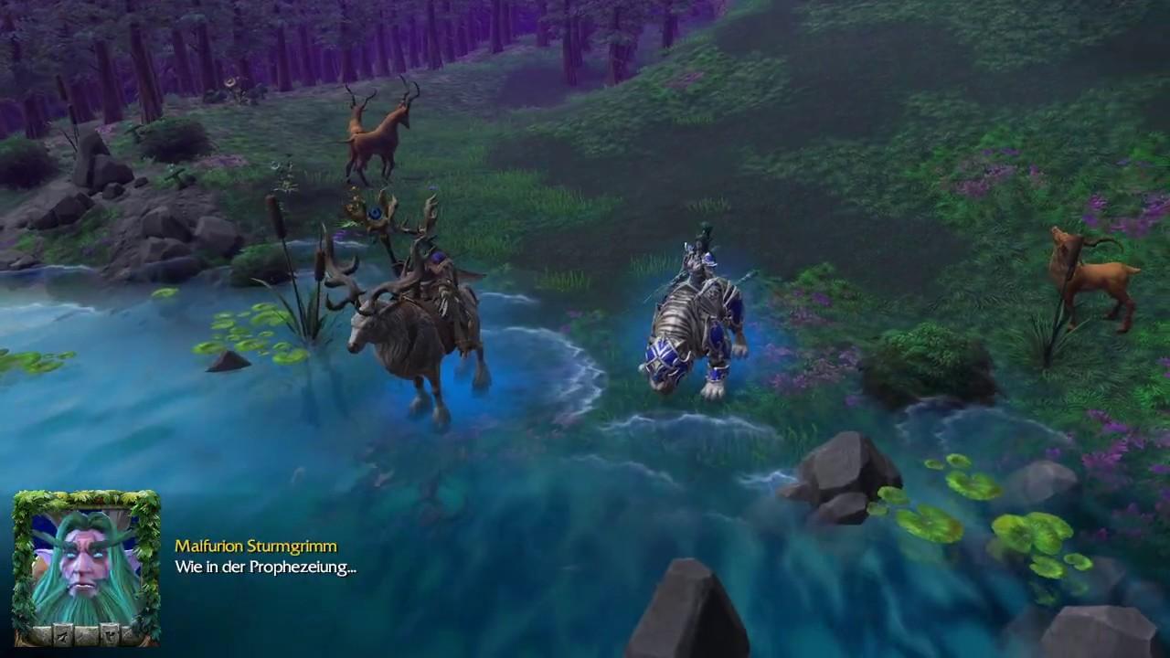 Warcraft III Reforged Kampagne #029 Machtwort der Druiden ...