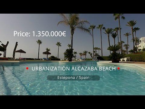 Alcazaba Beach Frontline Penthouse for sale