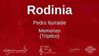 Pedro Iturralde - Memorias (tríptico) | by Rodinia