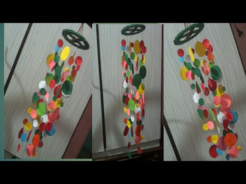 Paper craft wall hanging jar ideas, easy paper craft , home decorate ,