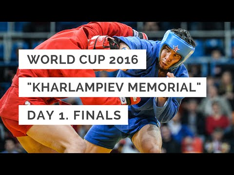 """Finals of the first day of the """"Kharlampiev Memorial"""" 2016 in Moscow"""