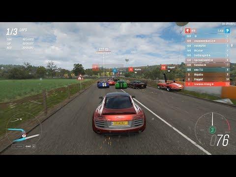 Forza Horizon 4 - Darius's Twin Turbo Audi R8 for S1-Class [Ranked Adventure] thumbnail