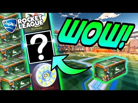 Rocket League CRATE OPENING: HUGE SPRING FEVER CRATE Opening = PAINTED WHEELS! (Update Gameplay)