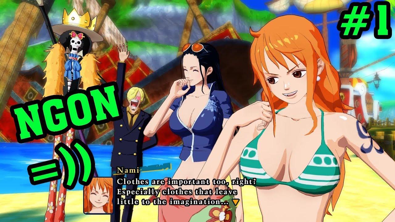 One Piece game 3D – Unlimited world red – Phiêu Lưu Cùng Luffy Trên Hòn Đảo Nikiki Tập 1