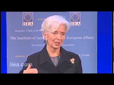 Christine Lagarde on Ireland and the European Union -- Shared Determination, Shared Destiny