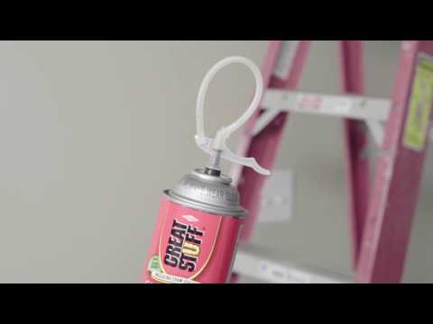 How to use the GREAT STUFF™ Restartable Straw - YouTube