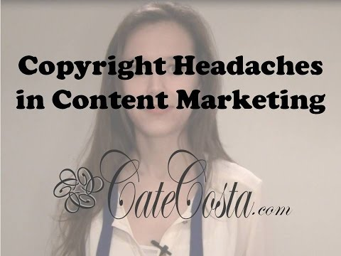 Learn From My Mistakes: Copyright Headaches in Content Marketing