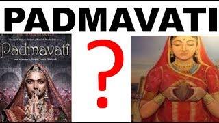ALL ABOUT padmavati controversy sanjay leela bhansali deepika padukone