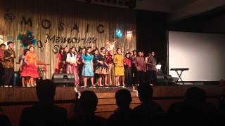 Penampilan kesan pesan kelas XII alam 3 (Sinthing) SMAN 1 Banjarbaru
