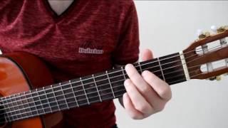 (ЧАСТЬ 2) The Beatles - Michelle, разбор песни на гитаре, уроки гитары, фингерстайл