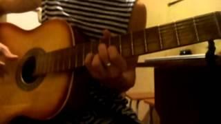 Юлия Ахонькова - Конфетный мальчик (ДАЛС - У губ твоих конфетный вкус) гитара