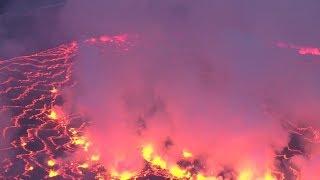 360: Inside DR Congo's deadly Nyiragongo volcano