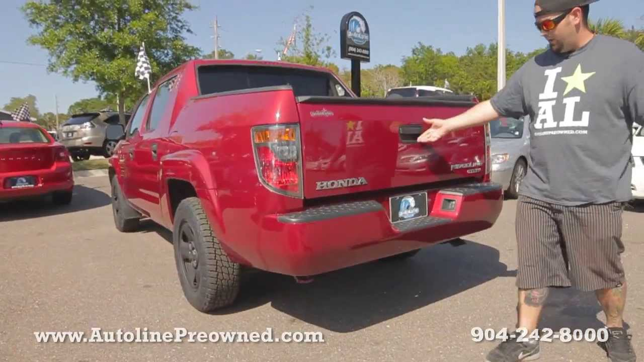 Autoline Preowned 2006 Honda Ridgeline For Sale Used Walk Around Review  Jacksonville   YouTube