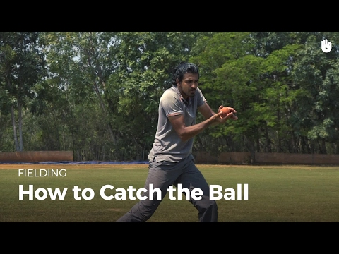 How to Catch the Ball | Cricket