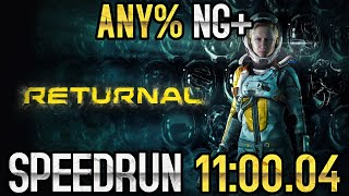 [WR] Returnal Any% NG+ Speedrun in 11:00.04 RTA [PS5 v1.003.000]
