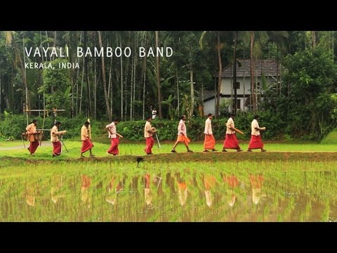 Folk Secrets Music Project  Vayali Bamboo Band, Kerala, India