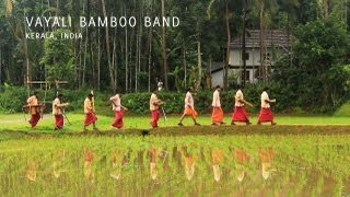 Folk Secrets Music Project - Vayali Bamboo Band, Kerala, India