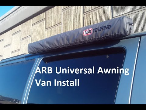 ARB Universal Awning Van Install Initial Impressions ...